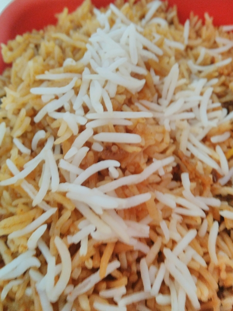Hyderabadi Chicken Biryani tasted by Biswajit Ganguly